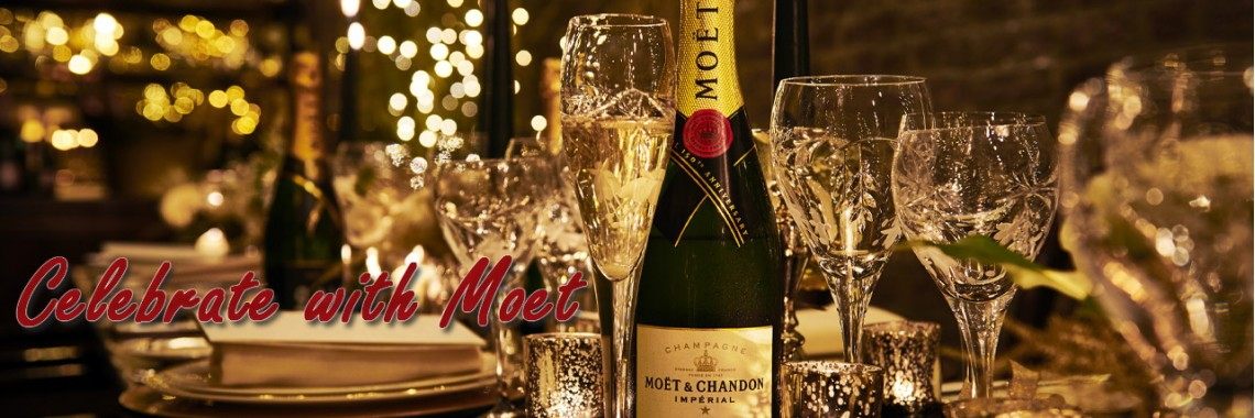 Moet - Our most popular champagne