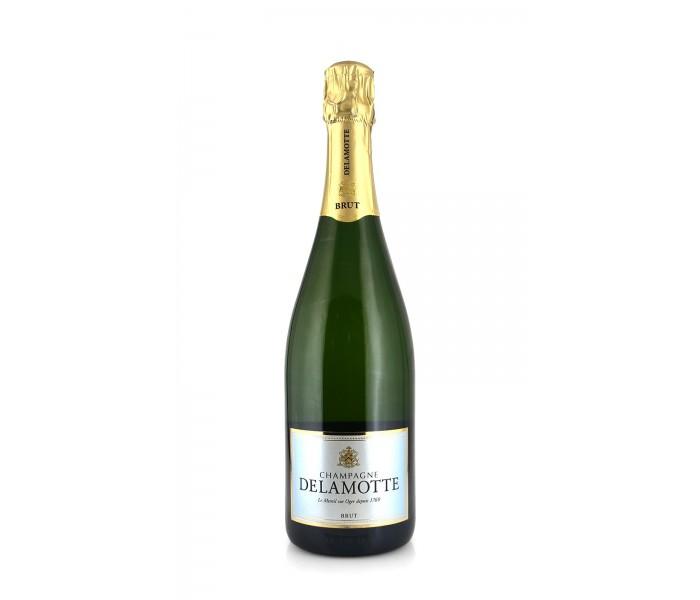 Delamotte brut nv for Champagne delamotte