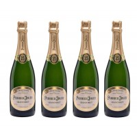 Perrier Jouet Grand Brut Champagne (set of 4 bottles)