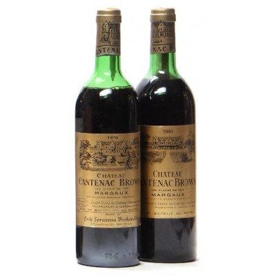 Chateau Cantenac Brown 1980