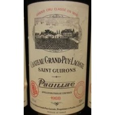 Chateau Grand Puy Lacoste 1988