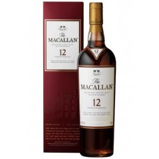 The Macallan Single Malt Whisky 12Yrs 700ml Sherry Oak
