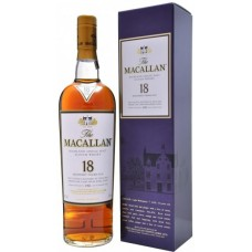 The Macallan Single Malt Whisky 18Yrs 700ml Sherry Oak